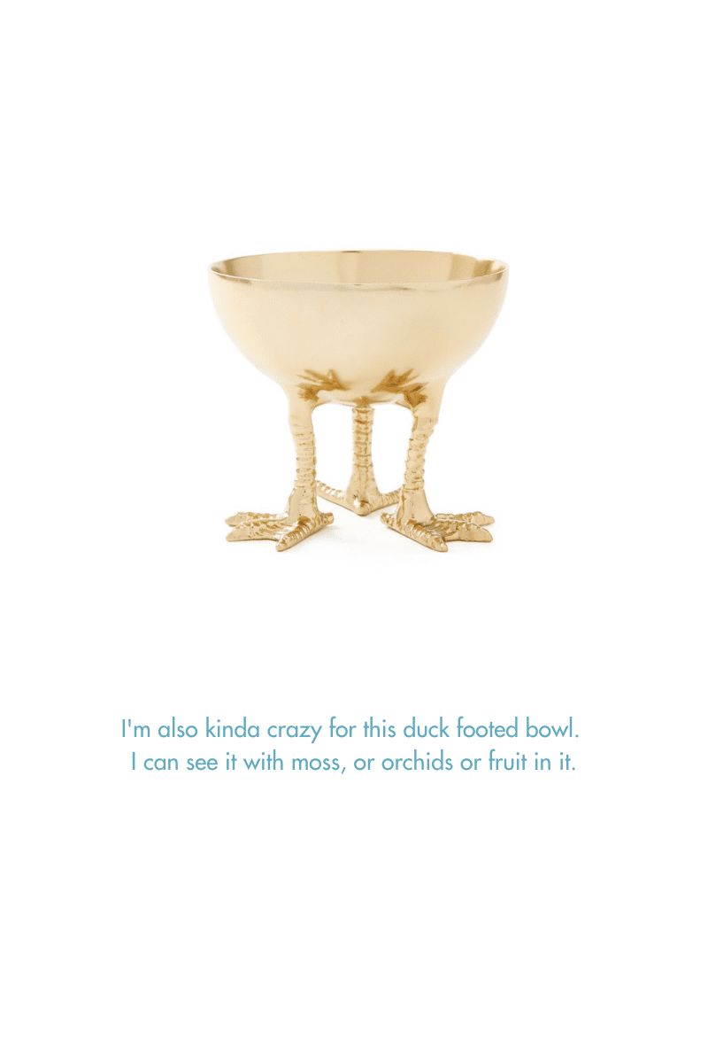 Duck Footed Bowl